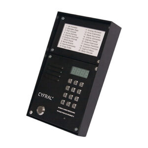 Digitalna pozivna tabla CYFRAL Z-2000PN BLACK LM-NP