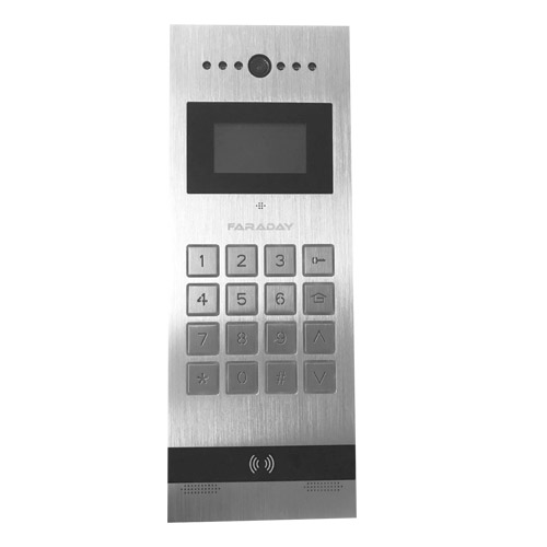 Interfon Faraday D28BCM00C, pozivna tabla