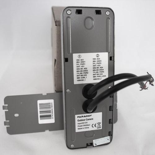 Interfon Faraday D27ACM04, pozivna tabla