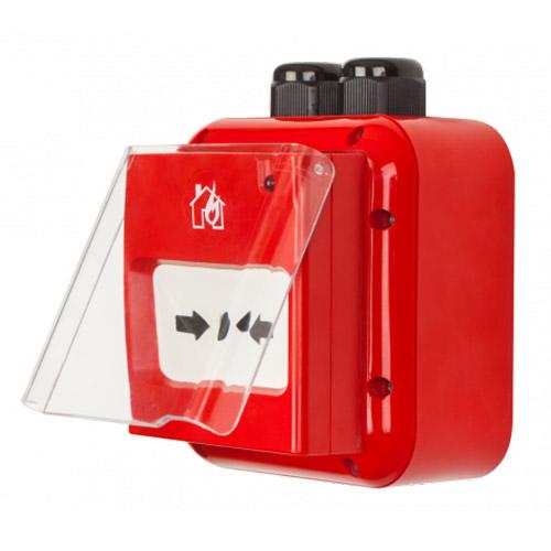 Teletek SensoMAG MCP50 IP67, ručni javljač požara