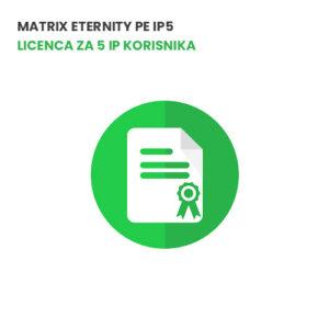Matrix ETERNITY PE IP5 - Licenca za 5 IP korisnika