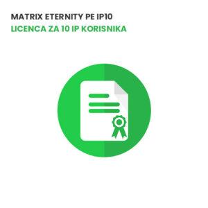Matrix ETERNITY PE IP10 -Licenca za 10 IP korisnika