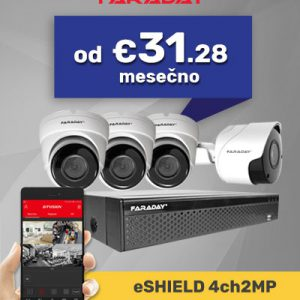 Paket video nadzor 4ch2mp
