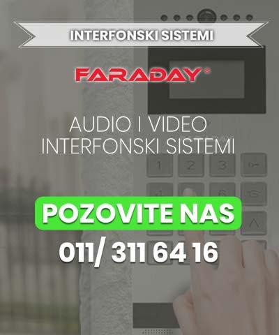 uspravni baner interfonski sistemi