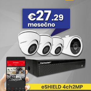 Video nadzor paket 4ch2MP