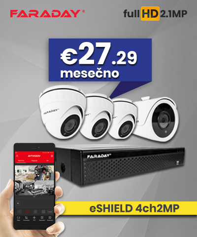 Video nadzor paket 4ch2MP