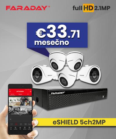 Video nadzor paket 5ch2MP