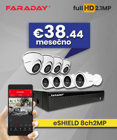Video nadzor paket 8ch2MP