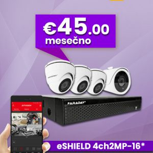 Paket Video nadzor 4ch-2mp-16