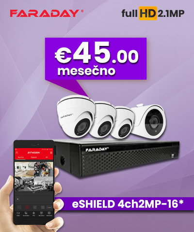 Paket Video nadzor 4ch-2mp-16