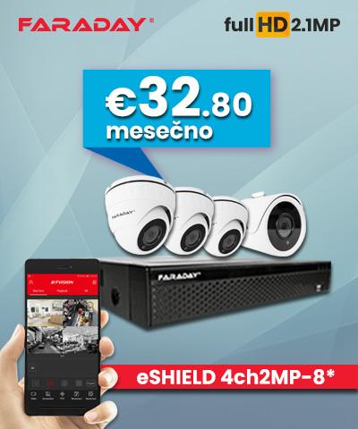 Paket Video nadzor 4ch-2mp-8