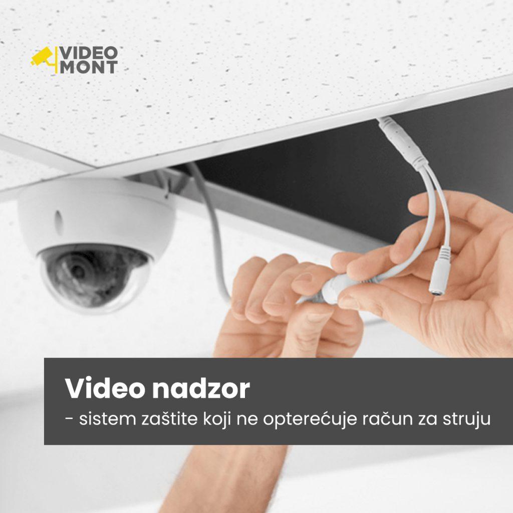 Video nadzor - sistem koji ne opterećuje račun za struju