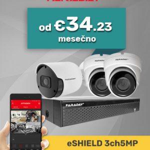 Paket video nadzor 3ch5mp