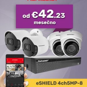 Video nadzor paket 4ch5mp-8